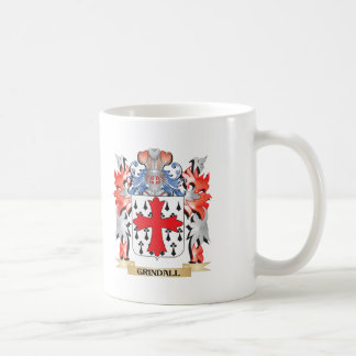 Grindall Coat of Arms - Family Crest Coffee Mug