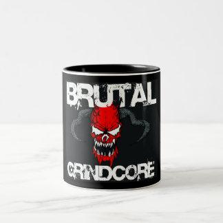 Grindcore brutal tazas