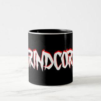 "GRINDCORE ""Mug"" Two-Tone Coffee Mug"