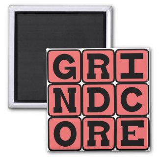 Grindcore, Music Genre Refrigerator Magnet