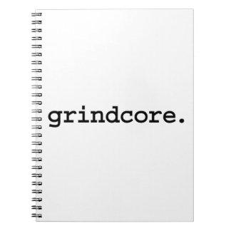grindcore notebooks