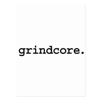 grindcore. postcard