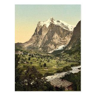 Grindelwald, general view, Bernese Oberland, Switz Postcard
