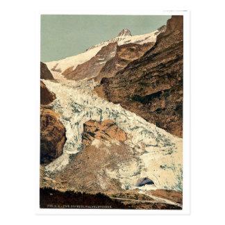 Grindelwald, Glacier, source of Lutschine, Bernes Postcard