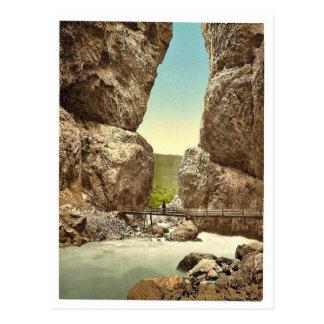 Grindelwald, grotto, I, Bernese Oberland, Switzerl Postcard