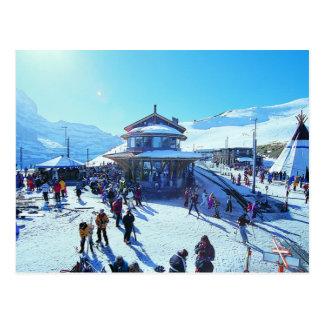 Grindelwald Grund Postcard