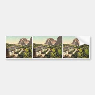 Grindelwald, Hotel Eiger, Bernese Oberland, Switze Bumper Stickers