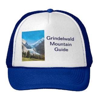 Grindelwald mountains in summer trucker hat