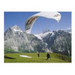 Grindelwald Paragliding Post Cards