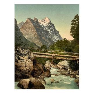 Grindelwald, with Eiger, Bernese Oberland, Switzer Postcard