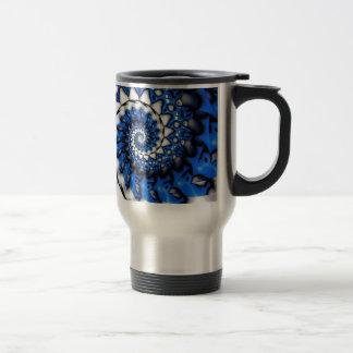 Grinder Blue Travel Mug