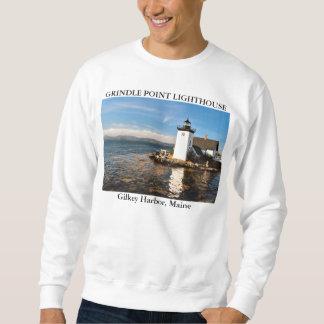 Grindle Point Lighthouse, Gilkey Harbor Maine Sweatshirt