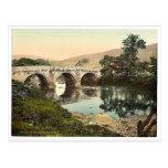 Grindleford Bridge, Derbyshire, England classic Ph Post Card