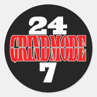 GrindMode 24/7 Sticker