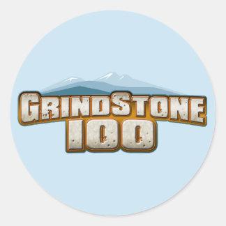 Grindstone 100 round sticker