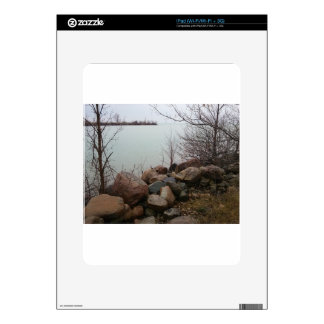 Grindstone City Autumn Fall Shoreline Sandstone Skins For The iPad