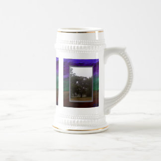 Gringing the Rain 18 Oz Beer Stein