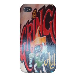Gringo en Bocas iPhone 4 Cárcasas