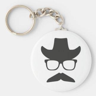 Gringo Moustache Keychain