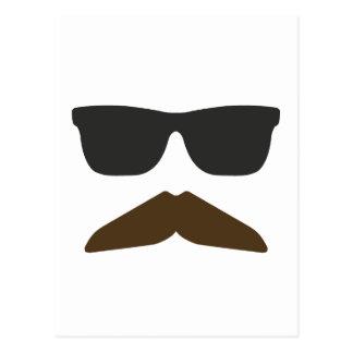 Gringo Moustache Postcard