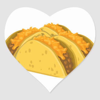 Gringo Tacos Heart Sticker