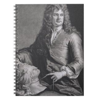 Grinling Gibbons (1648-1721) (litho) Cuaderno