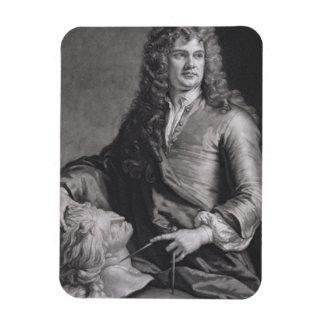 Grinling Gibbons (1648-1721) (litho) Imanes Rectangulares