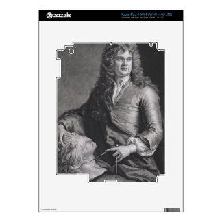Grinling Gibbons (1648-1721) (litho) iPad 3 Pegatinas Skins