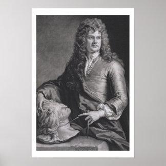 Grinling Gibbons (1648-1721) (litho) Poster