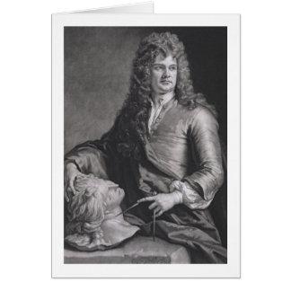 Grinling Gibbons (1648-1721) (litho) Tarjeta