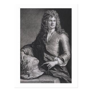Grinling Gibbons (1648-1721) (litho) Postal