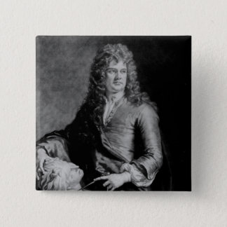 Grinling Gibbons , engraved by J. Smith Pinback Button