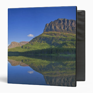 Grinnel Point and Allen Mountain reflect into 3 Ring Binder