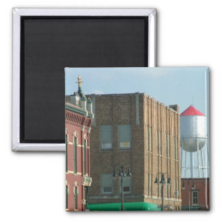 Grinnell 2 Inch Square Magnet