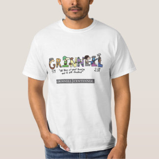 Grinnell at 100, #2 tshirt