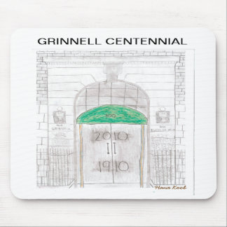 GRINNELL CENTENNIAL mousepad