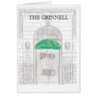GRINNELL Centennial notecards Card