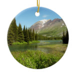 Grinnell Creek at Glacier National Park Ceramic Ornament