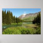 Grinnell Creek at Glacier National Park Poster