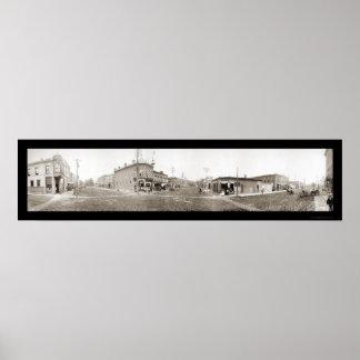 Grinnell foto principal 1907 del St de IA Poster