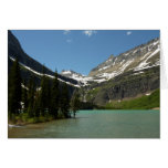 Grinnell Lake at Glacier National Park Card