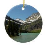 Grinnell Lake at Glacier National Park Ceramic Ornament