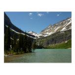 Grinnell Lake at Glacier National Park Postcard