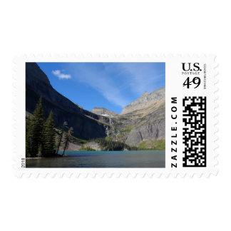 Grinnell Lake - Glacier National Park Stamp