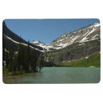 Grinnell Lake in Glacier National Park Floor Mat
