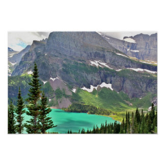 Grinnell Lake Poster