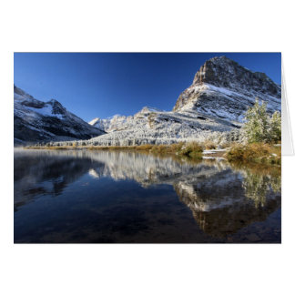 Grinnell Point Snowy Reflections Card