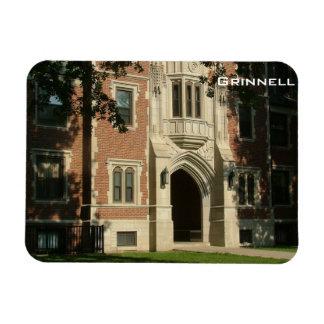 Grinnell Rectangular Photo Magnet