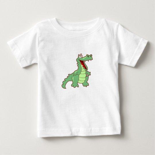 Grinning Alligator Baby T-Shirt