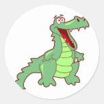 Grinning Alligator Stickers